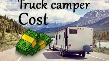 Truck camper cost