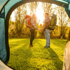 Preparing for first time camping