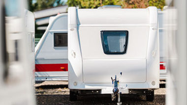 Travel trailer for family